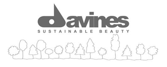 Logo Davines azienda di prodotti per capelli